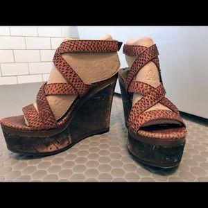 Woman's wedges, sandals, shoes